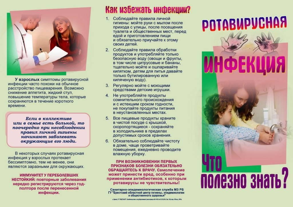 Ротавирусная кишечная инфекция у детей