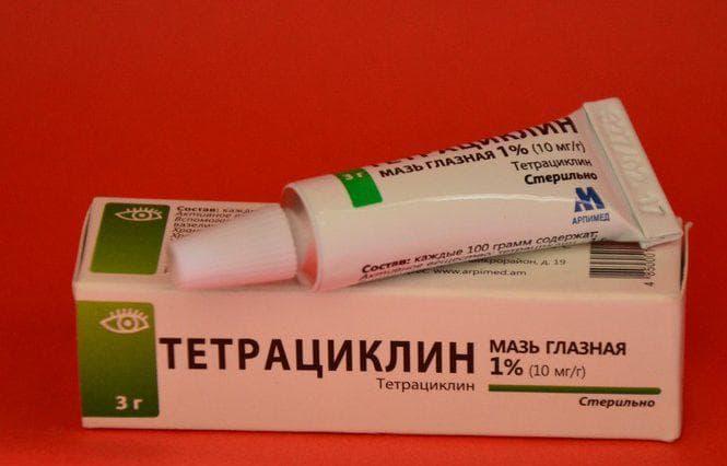 Особенности использования тетрациклиновой мази для детей