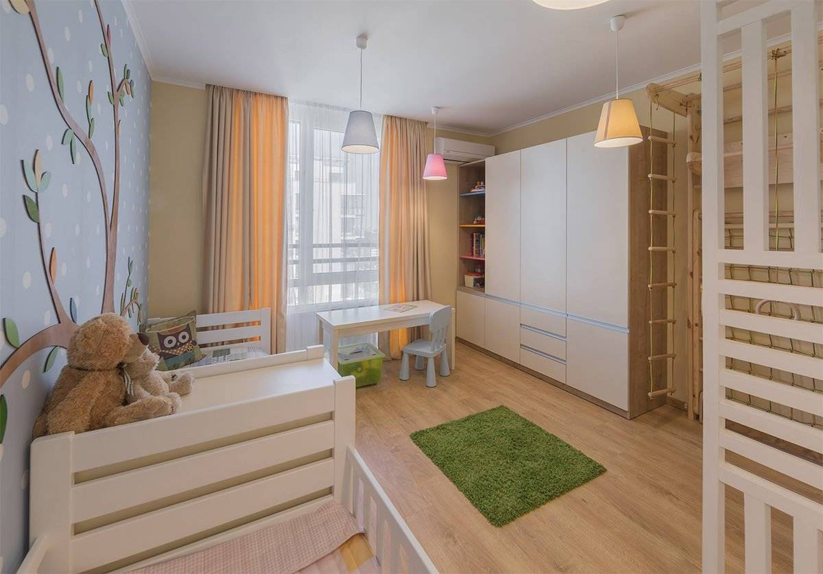 Варианты дизайна интерьера в детской комнате школьника