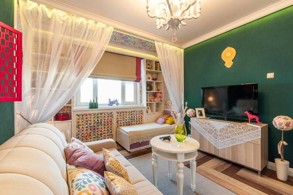 Спальня, совмещенная с гостиной: дизайн и украшение современных спален и гостинных комнат (125 фото)