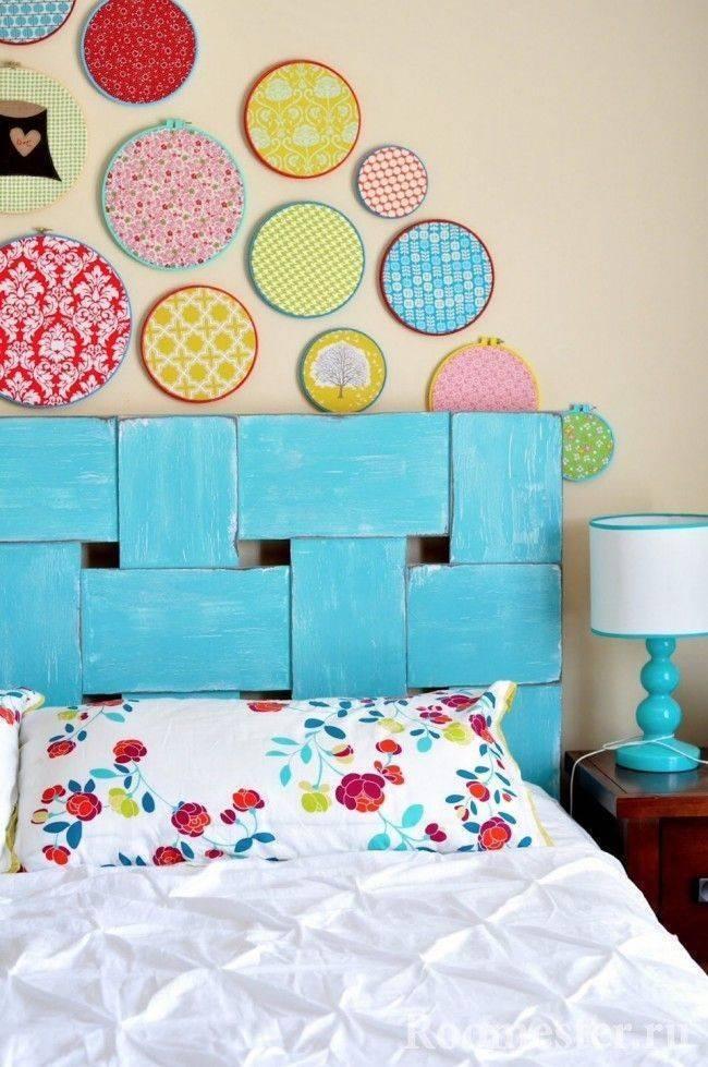 Декор стен своими руками: идеи из подручных материалов