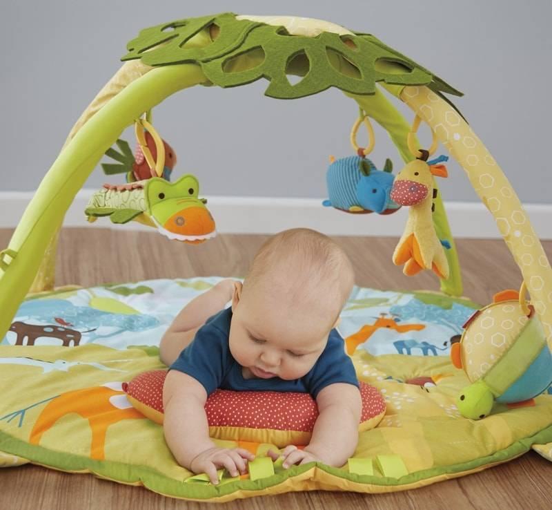 Лучшие развивающие коврики для новорожденных - отзывы, рейтинг