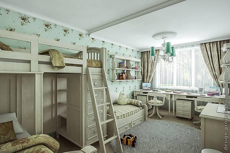 Планировка детской комнаты: варианты оформления дизайна, фото интерьера
