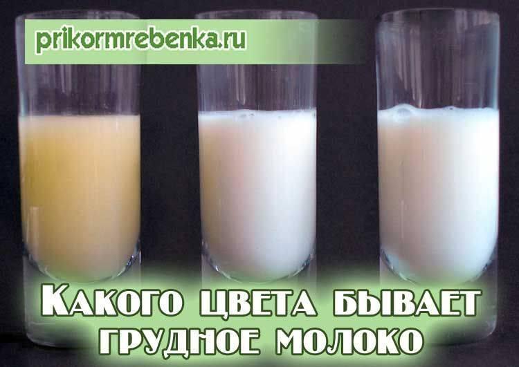 Цвета и оттенки материнского молока во время грудного вскармливания — топотушки