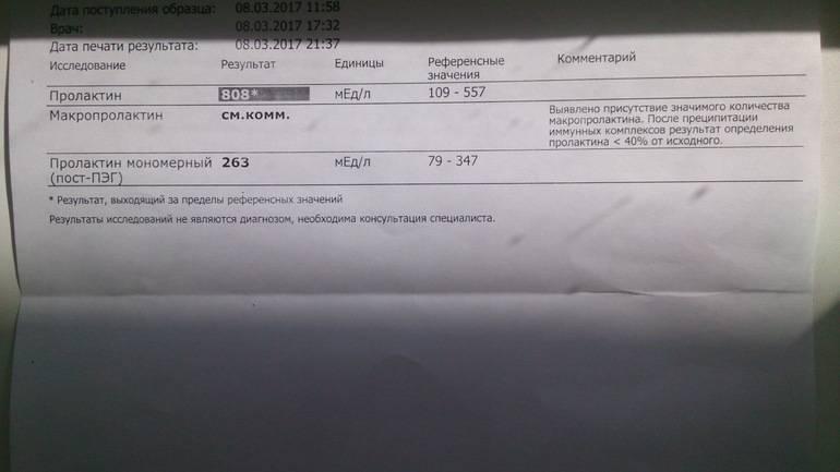 Пролактин мономерный и макропролактин: в чем разница, какова норма, почему уровень гормонов повышен? | признаки | vpolozhenii.com