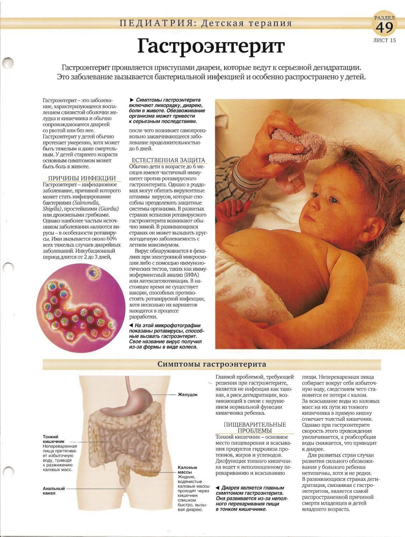 Гастроэнтерит у детей: симптомы и лечение, признаки, как лечить