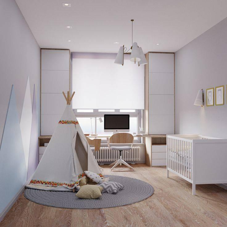 Интерьер детской комнаты для мальчика, для девочки, для двух детей
