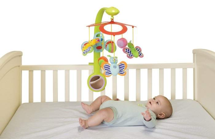 Когда вешать игрушки над кроваткой новорожденных комаровский - здоровый плод