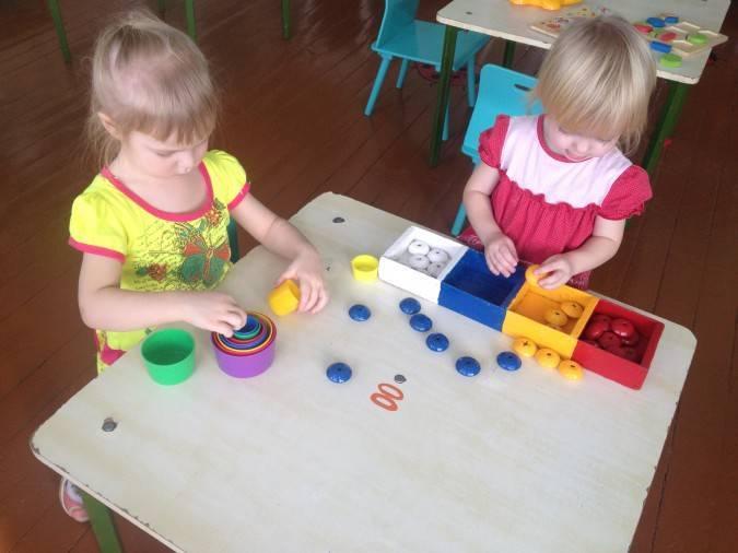 Картотека игр по сенсорике для детей 2-3 лет - документ