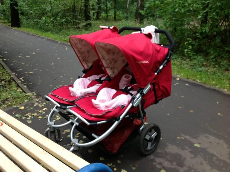Как выбрать коляску для двойняшек. коляска для близнецов