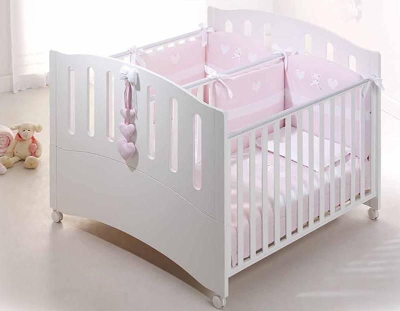 Детская кроватка: фото для двойни и новорожденных люлька, для двойняшек приставная металлическая, красивая для близнецов детская кроватка: 5 лучших моделей – дизайн интерьера и ремонт квартиры своими руками