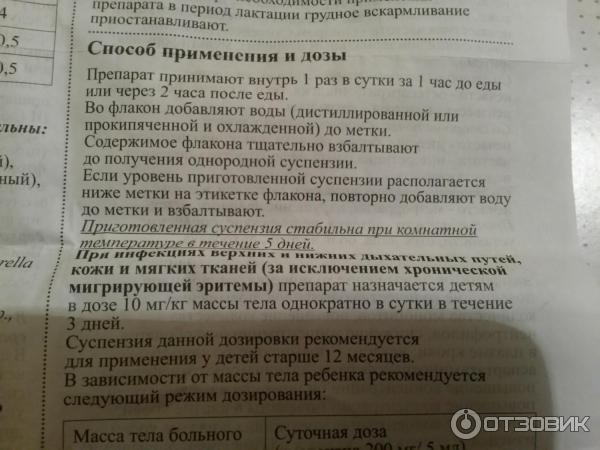 Амоксициллин для детей ?: инструкция по применению суспензии (125 и 250 мг), сиропа и таблеток