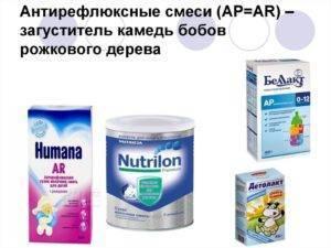 Список антирефлюксных смесей для новорожденных: обзор детского питания против срыгивания - малышок