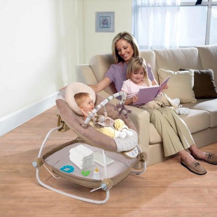 Люлька электронная для новорожденных