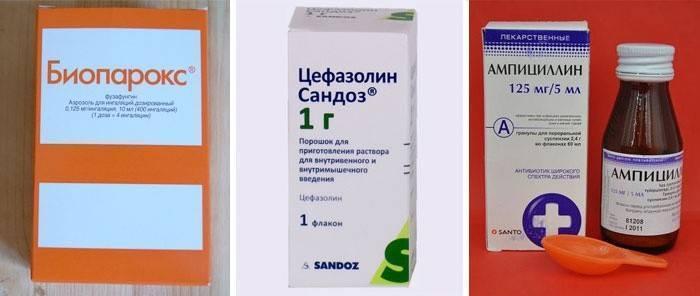 Как лечить ребенка от кашля температуры антибиотик