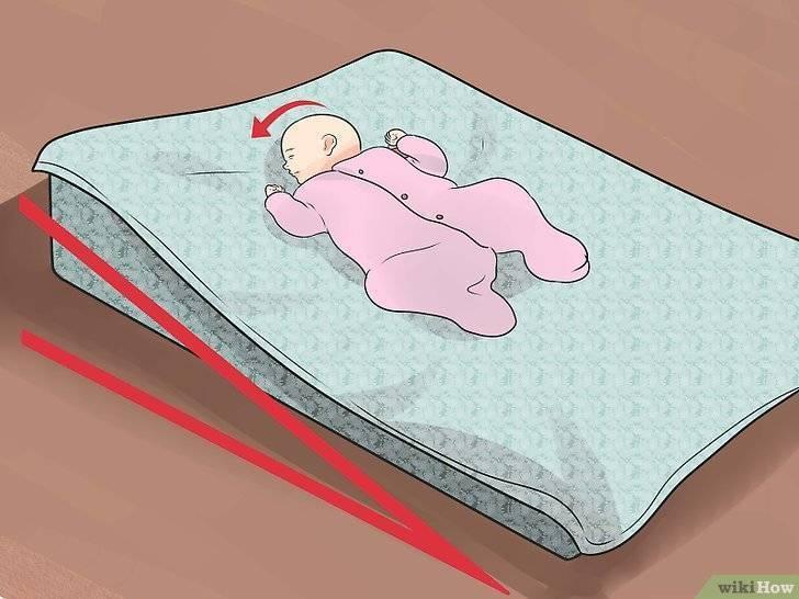 Можно ли новорождённому спать на спине: польза и вред такого положения во сне для малыша