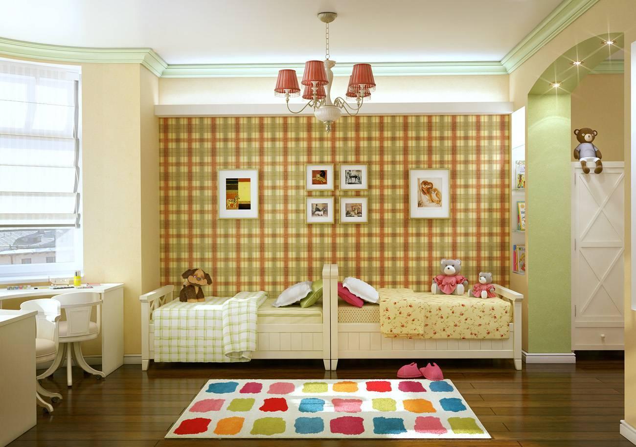 Интересные идеи по обустройству и оформлению детских комнат