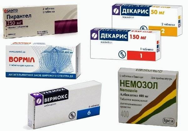 Лекарство от остриц для детей от года и взрослых - какие препараты лучше для лечения энтеробиоза?