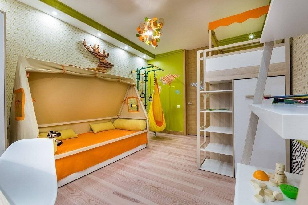 Дизайн детской 8 кв. м. — 9 кв. м.