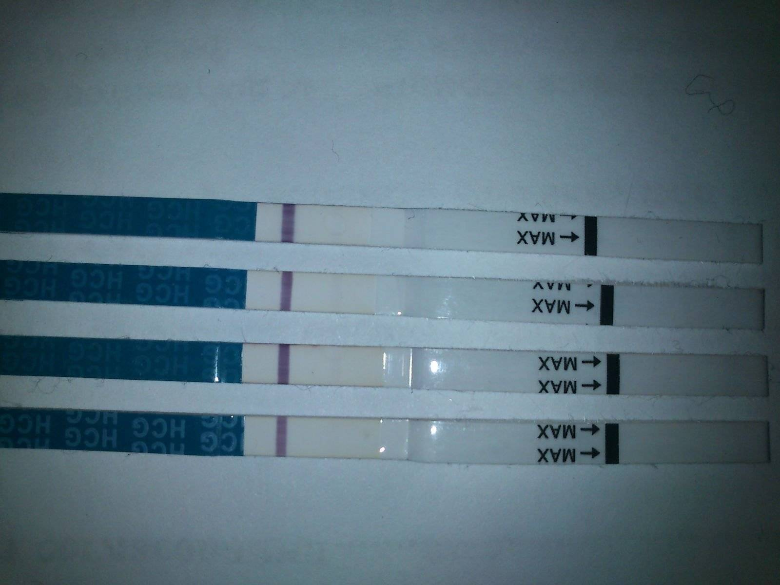 Признаки беременности тест отрицательный