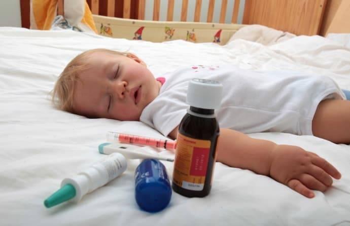Что делать, если ротавирус обнаружен у грудничка