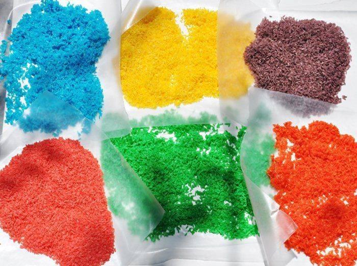 Цветной песок своими руками: пошаговая инструкция