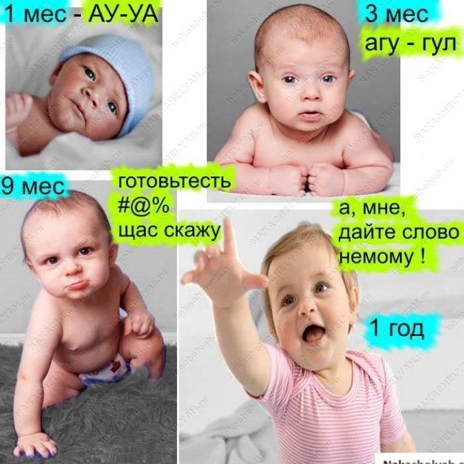Когда ребенок начинает улыбаться осознанно, смеяться в голос - мой ребенок