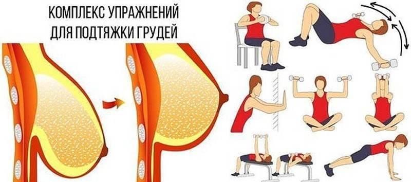 Как восстановить грудь после кормления, подтянуть грудные мышцы, вернуть форму?