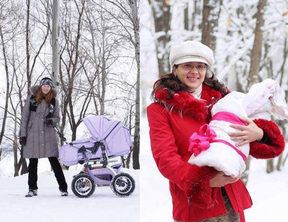 Сколько нужно гулять с ребенком в 1, 2 и 3 месяца зимой: правила прогулки