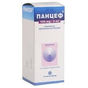 Панцеф: инструкция по применению суспензии для детей и аналоги антибиотика