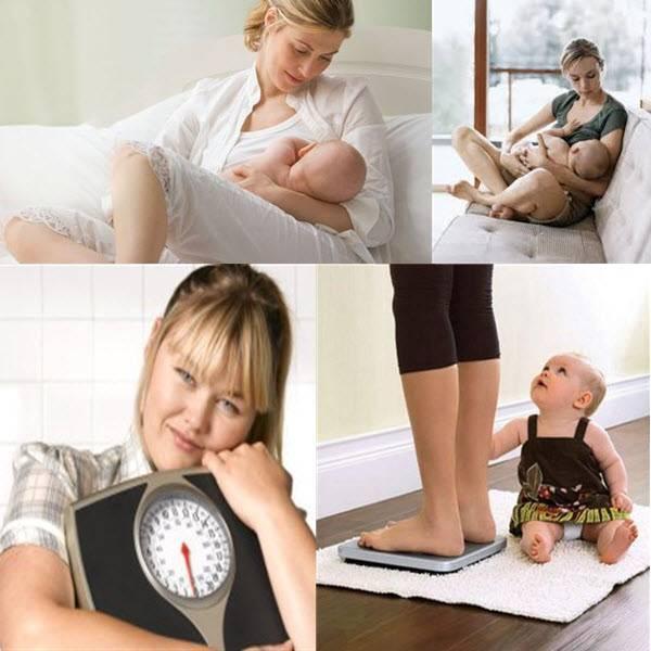 Как быстро похудеть при гв и какие упражнения можно делать женщине во время лактации