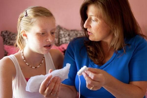 Как рассказать девочке про месячные ? и объяснить суть менструации
