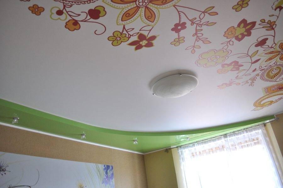 Как оформить натяжной потолок в детской комнате: интересные идеи и 30+ примеров