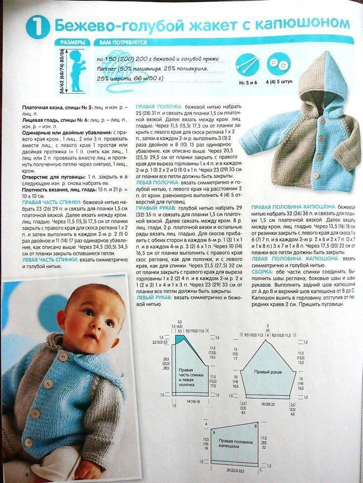Расчет реглана сверху для новорожденных. тёплая кофточка для новорождённых.