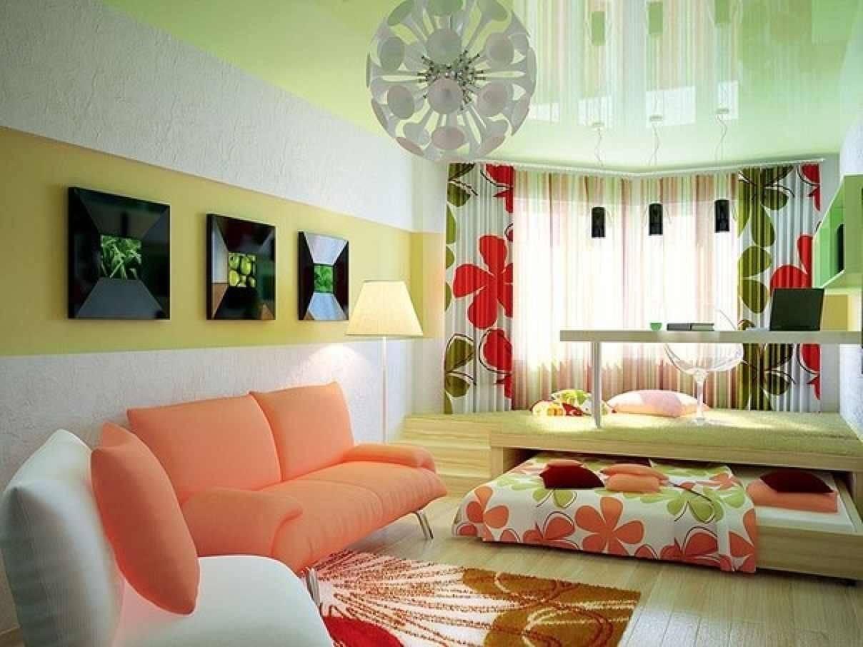 Дизайн детской спальни, совмещенной со взрослой в одной комнате или однокомнатной квартире с фото | детская | vpolozhenii.com
