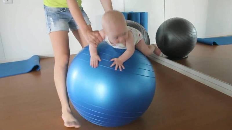 Почему фитбол для грудничков не просто желателен, а необходим?