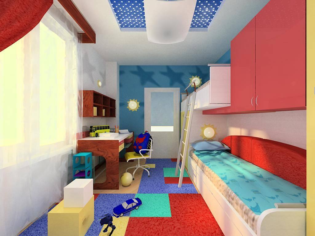 Узкая детская комната - функциональные и оригинальные решения для узких комнат (105 фото)