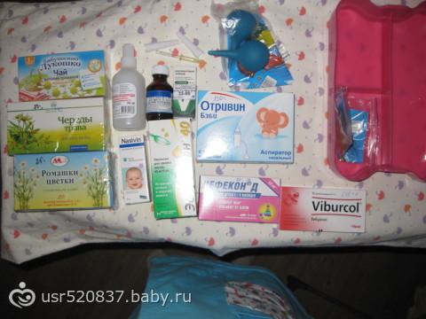 Аптечка, которая обязательно должна быть у новорожденного
