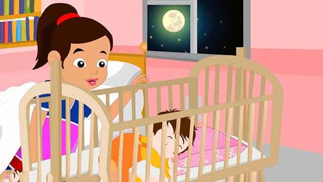 """Как научить ребенка засыпать: """"лунная соната"""" в детской кроватке"""