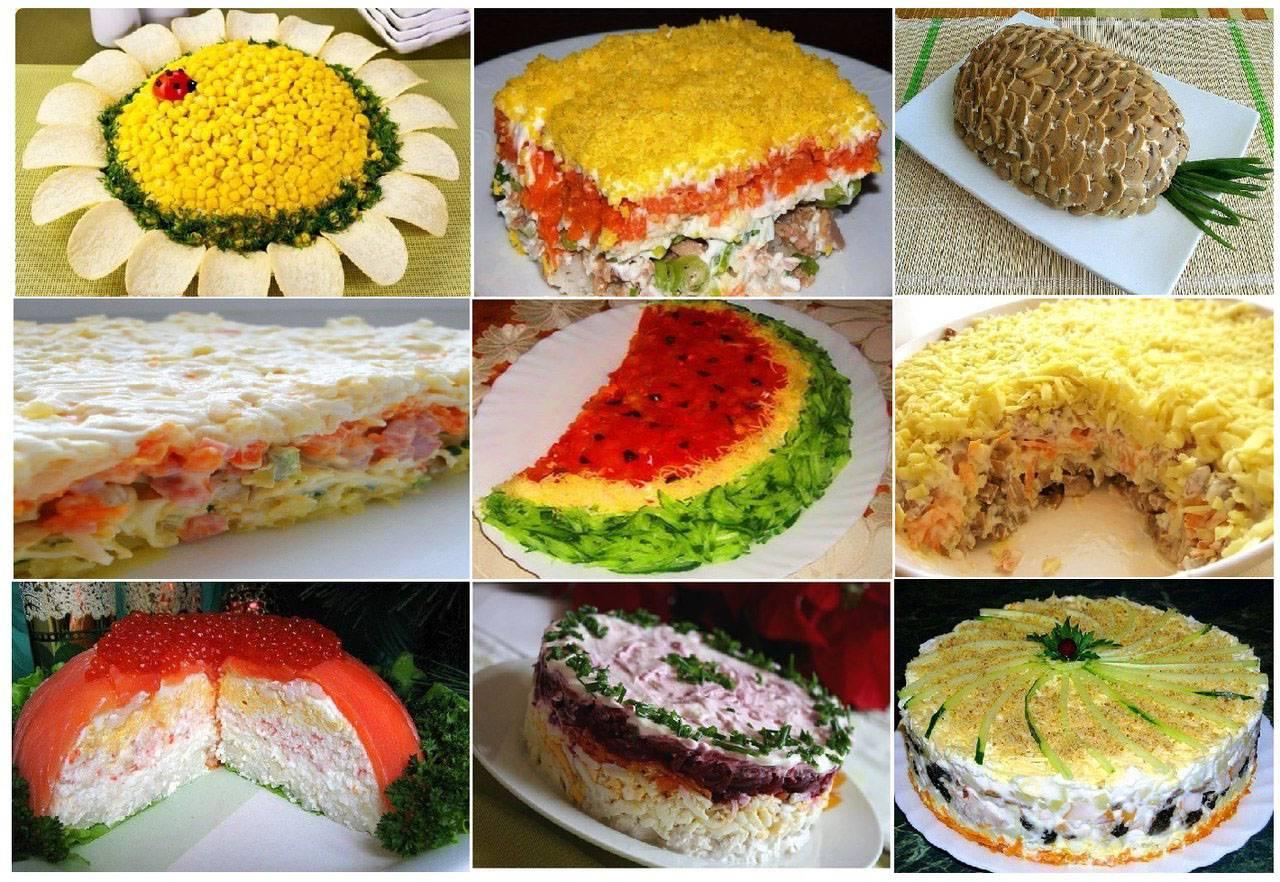 Салаты (более 100 рецептов с фото) - рецепты с фотографиями на поварёнок.ру