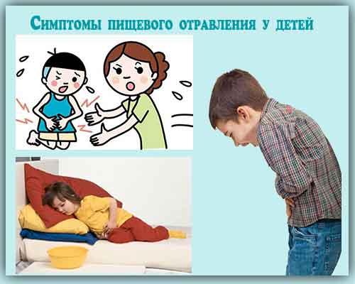 Как проявляется пищевое отравление у ребенка: симптомы и лечение при первых признаках