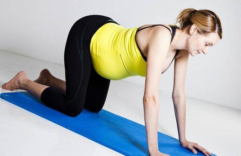Коленно локтевое упражнение для беременных newmed.su - все для мамы и малыша