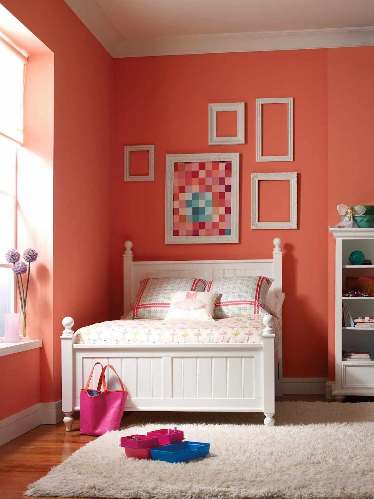Варианты оформления комнаты в розовых оттенках