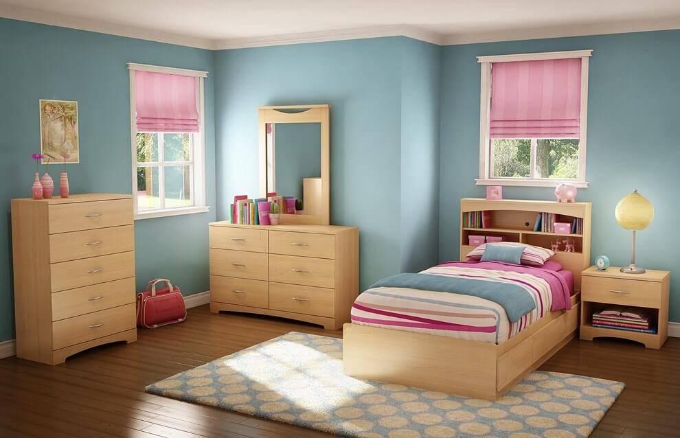 Бежевый цвет в интерьере детской комнаты |85 фото