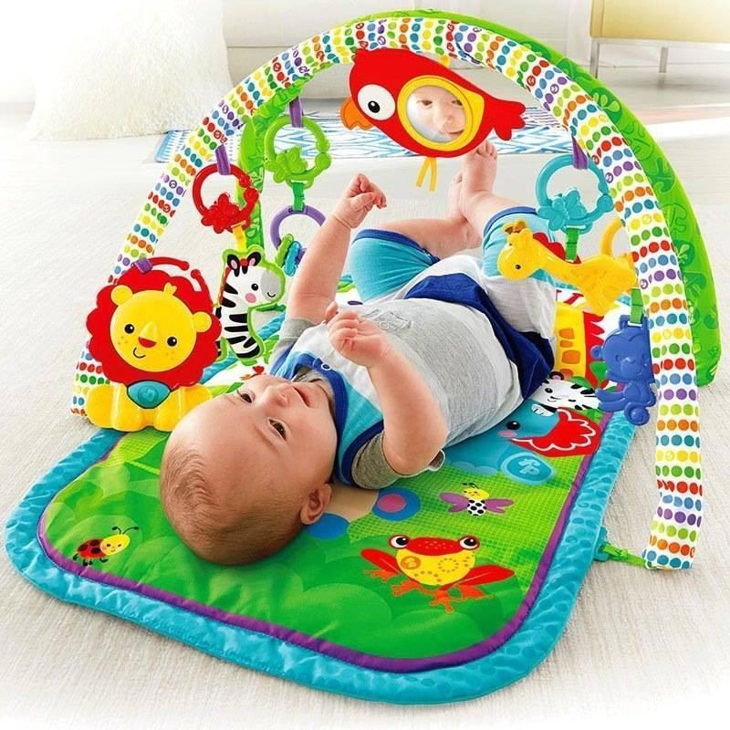 Развивающий коврик для новорожденных – необходимость или навязанная потребность