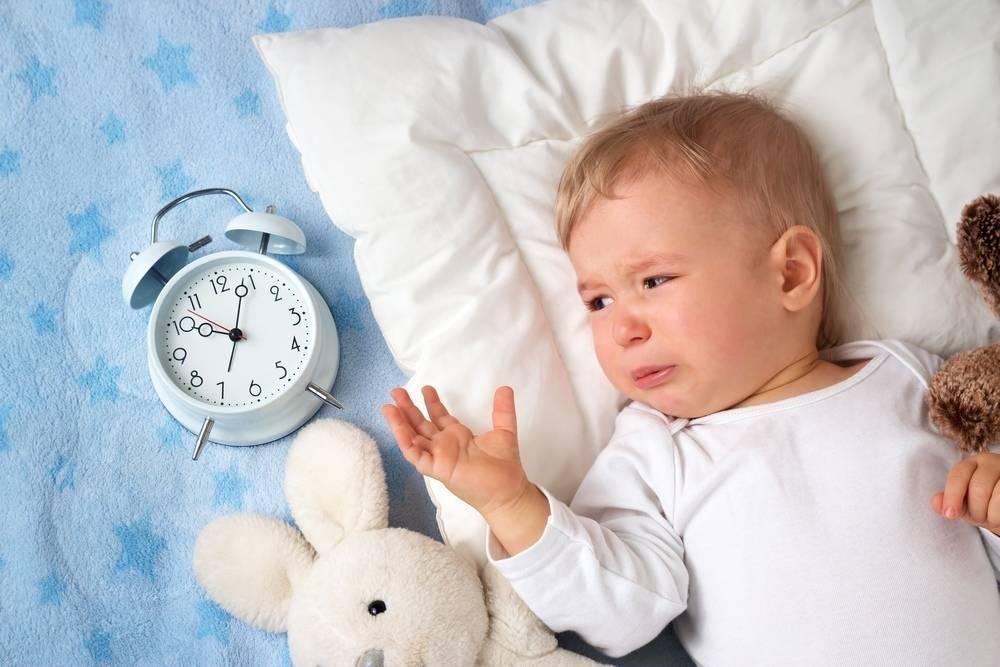 Ребенок плохо спит ночью и часто просыпается