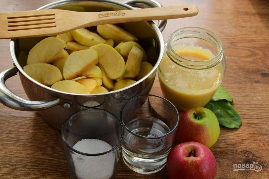 Запасаемся яблочным пюре на зиму для грудничка