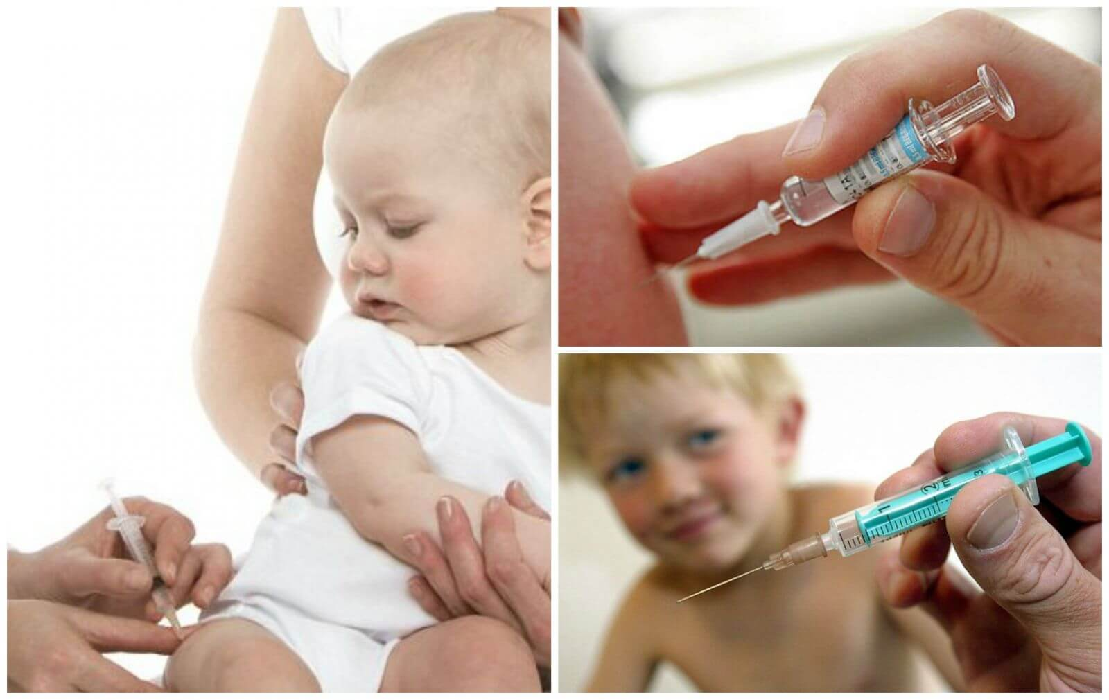 Можно ли делать ребёнку прививку при насморке