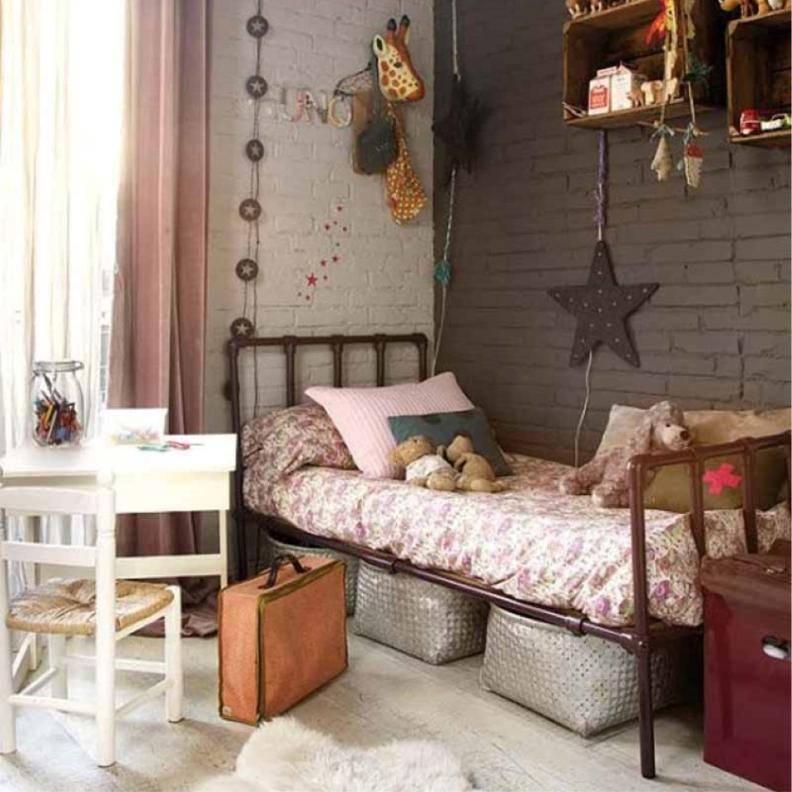 Детская в стиле лофт: стилистика, мебель, советы, характерные черты