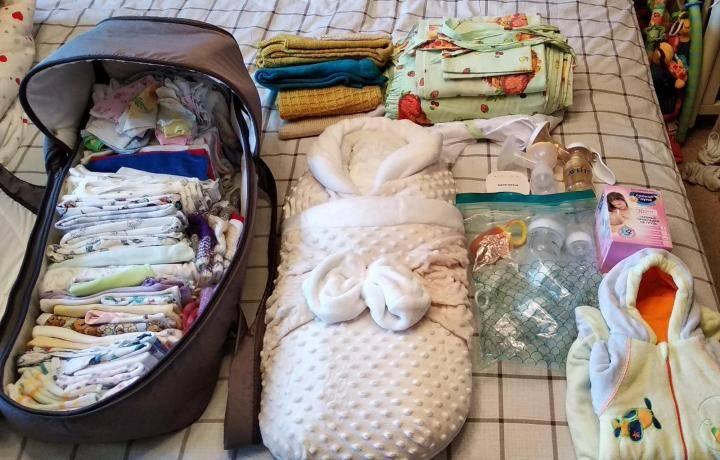 Список необходимых и нужных вещей для новорожденного